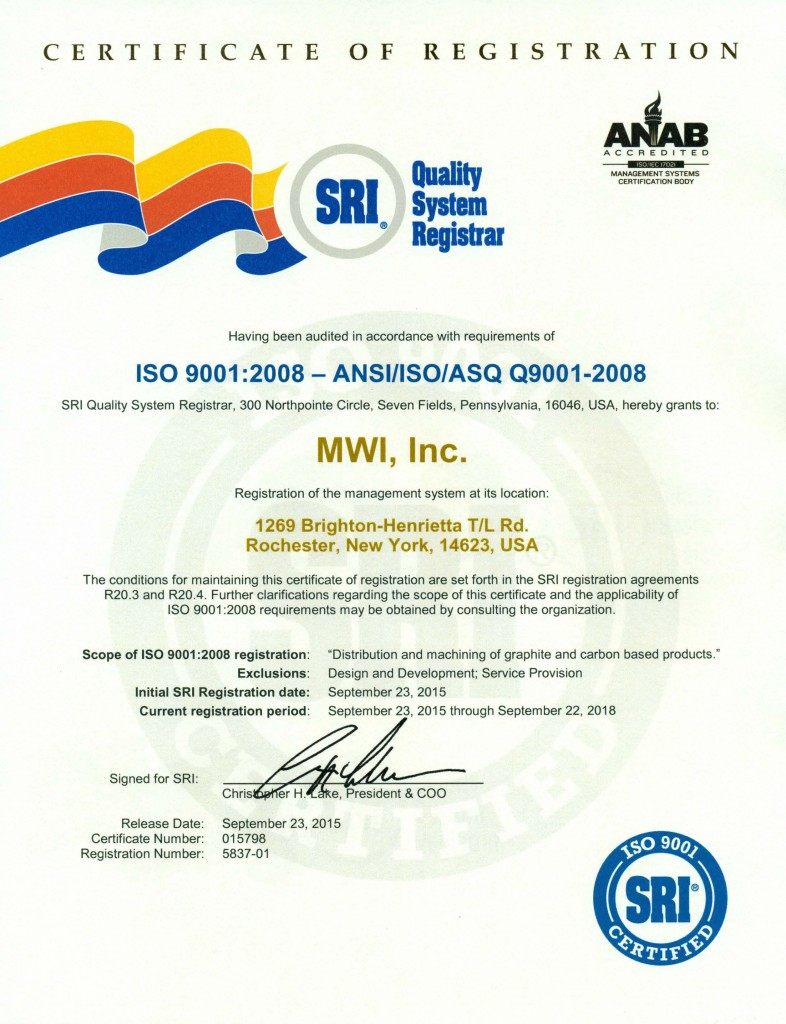 news release mwi inc awarded iso 9001 2008 certification mwimwi